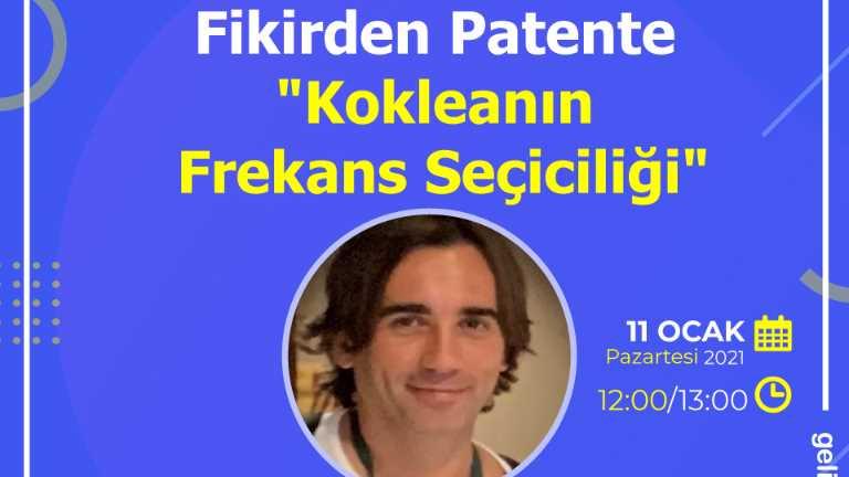 """""""Fikirden Patente Kokleanın Frekans Seçiciliği"""" Etkinliği"""