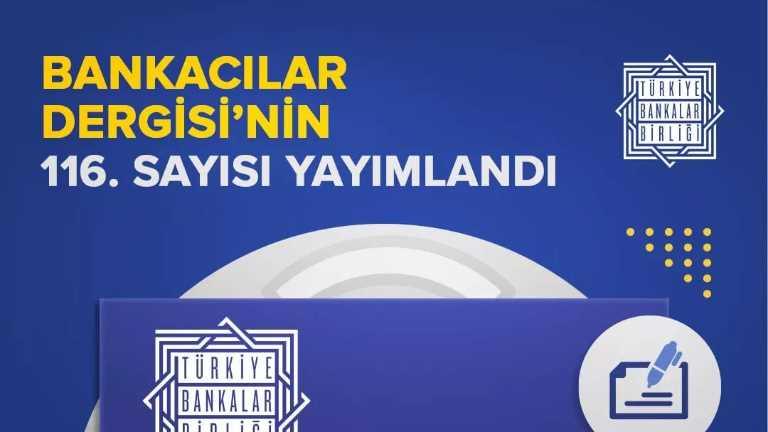 Dr. Öğr. Üyesi Ali Çelik ve Araş. Gör. Nuran Akdağ'ın Hazırladığı Makale Bankacılar Dergisi'nde Yayınlandı