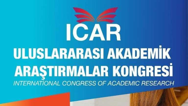 Dr. Öğr. Üyesi Canan Tiftik ve Dr. Öğr. Üyesi Özge Turhan Uluslararası Akademik Araştırmalar Kongresi'ne Katıldı