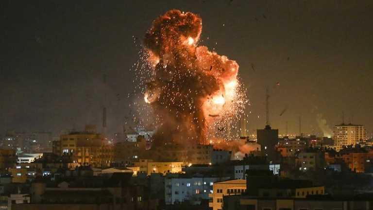 İsrail'in Gazze'ye terör saldırıları