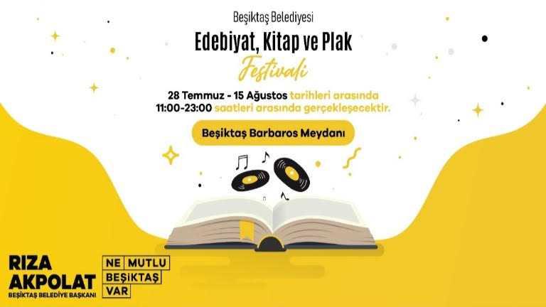 Edebiyat, Kitap ve Plak Festivali - Haber Görseli