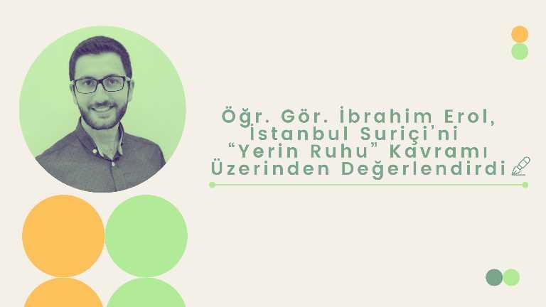 Öğr. Gör. İbrahim Erol (Hocamızdan görsel kullanımı için KVKK formu alınmıştır)
