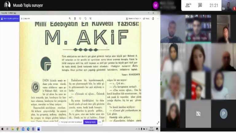 İstiklal ve Mehmet Akif Ersoy Etkinliği - Haber Görseli