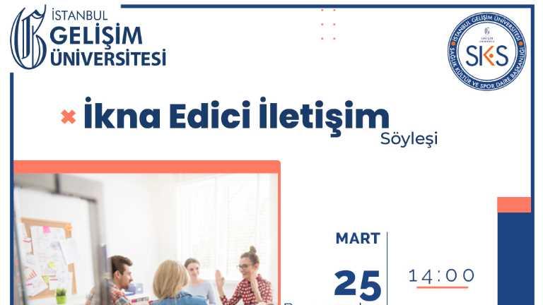 """Prof. Dr. Sevimece Karadoğan Doruk ile """"İkna Edici İletişim"""" Üzerine Söyleşi Gerçekleştirildi"""