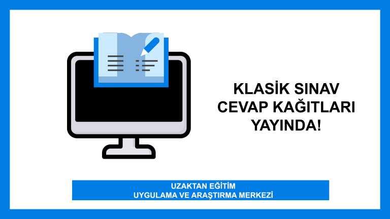 Klasik sınav cevap kağıtları yayında!