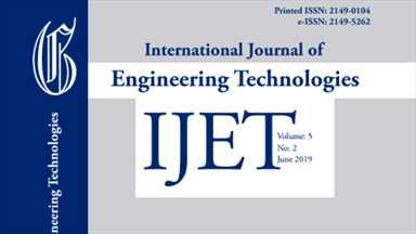 International Journal of Engineering Technologies