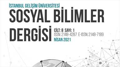 İstanbul Gelişim Üniversitesi Sosyal Bilimler Dergisi - Nisan 2021
