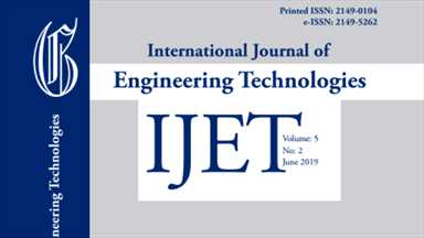 International Journal of Engineering Technologies