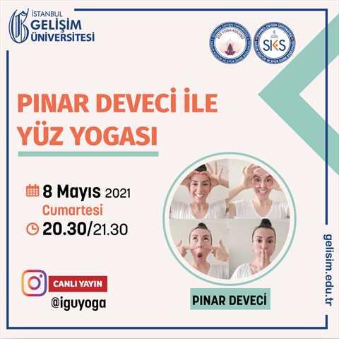 Pınar Deveci ile Yüz Yogası