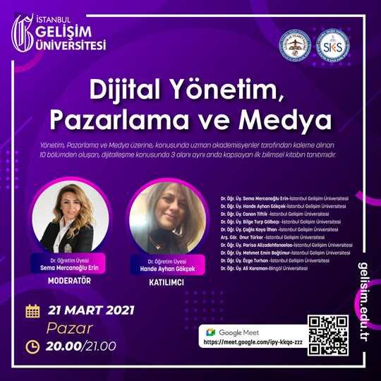 Dijital Yönetim Pazarlama ve Medya