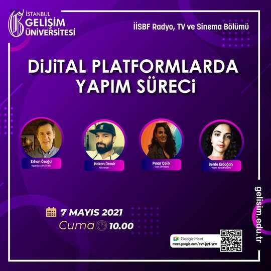 Dijital Platformlarda Yapım Süreci