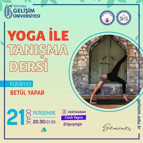 Yoga ile Tanışma Dersi