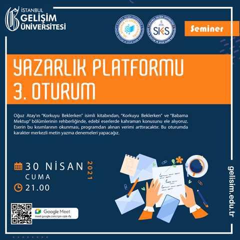 Yazarlık Platformu 3. Oturum