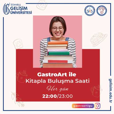 GastroArt ile Kitapla Buluşma Saati