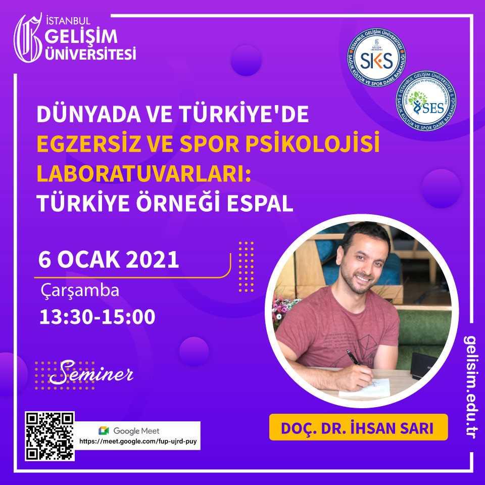 Dünyada ve Türkiye'de Egzersiz ve Spor Psikolojisi Laboratuvarları - Türkiye Örneği Espal