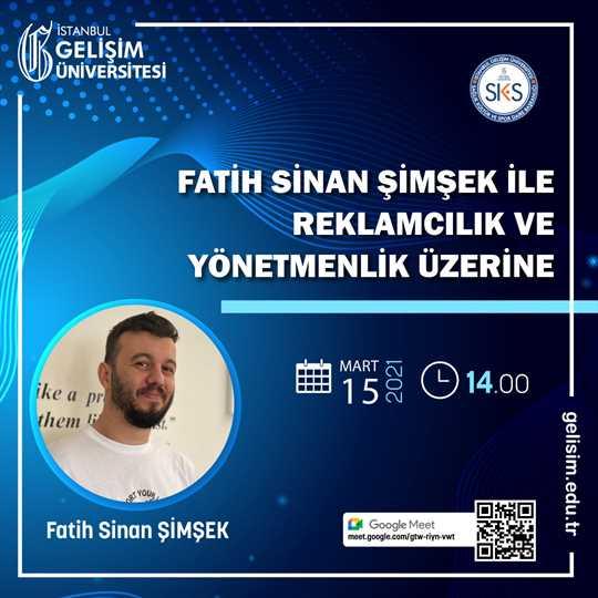 Fatih Sinan Şimşek ile Reklamcılık ve Yönetmenlik Üzerine