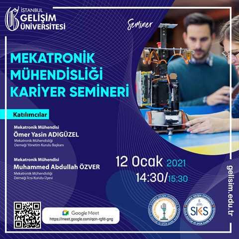 Mekatronik Mühendisliği Kariyer Semineri