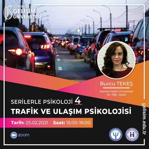 Serilerle Psikoloji 4 - Trafik ve Ulaşım Psikolojisi