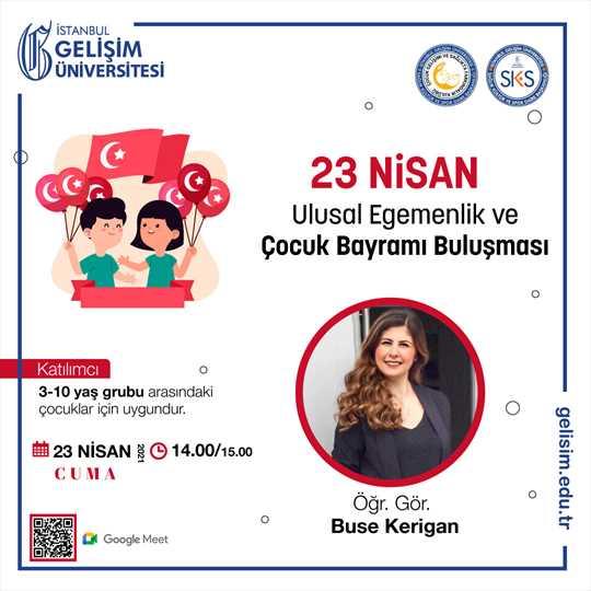 23 Nisan Ulusal Egemenlik ve Çocuk Bayramı Buluşması