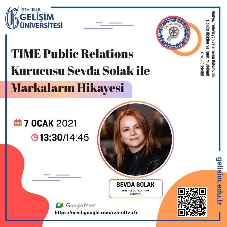 TIME Public Relations Kurucusu Sevda Solak ile Markaların Hikayesi