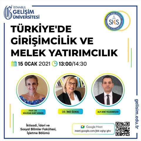 Türkiye'de Girişimcilik ve Melek Yatırımcılık
