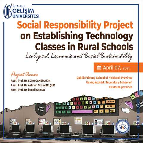 Social Responsibility Project on Establishing Technology Classes in Rural Schools