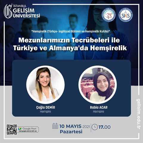 Mezunlarımızın Tecrübeleri ile Türkiye ve Almanya'da Hemşirelik