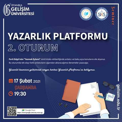 Yazarlık Platformu 2. Oturum