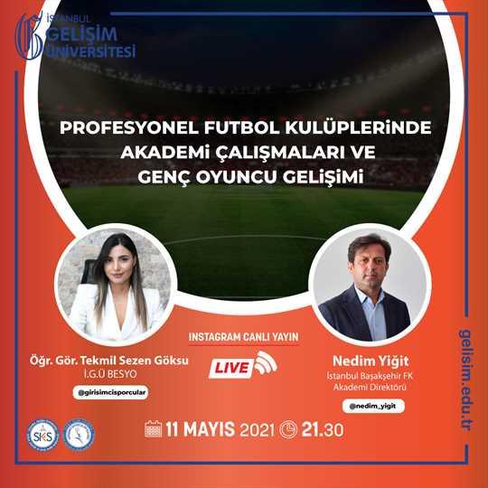 Profesyonel Futbol Kulüplerinde Akademi Çalışmaları ve Genç Oyuncu Gelişimi