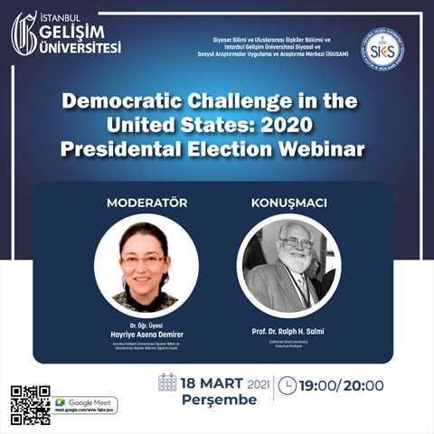 Democratic Challenge in the United States: 2020 Presidental Election Webinar