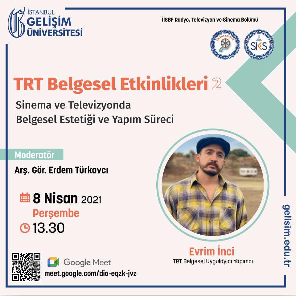 Sinema ve Televizyonda Belgesel Estetiği ve Yapım Süreci - TRT Belgesel Etkinlikleri - 2