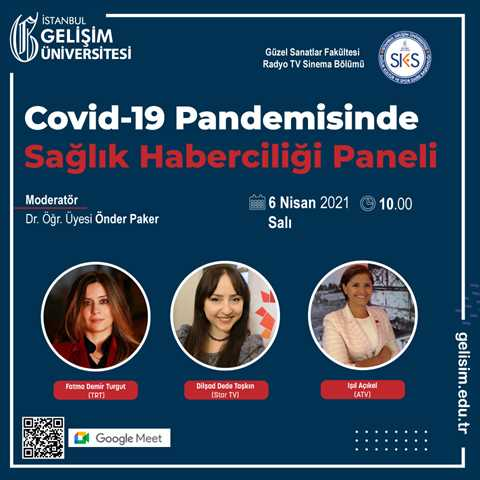 Covid-19 Pandemisinde Sağlık Haberciliği Paneli