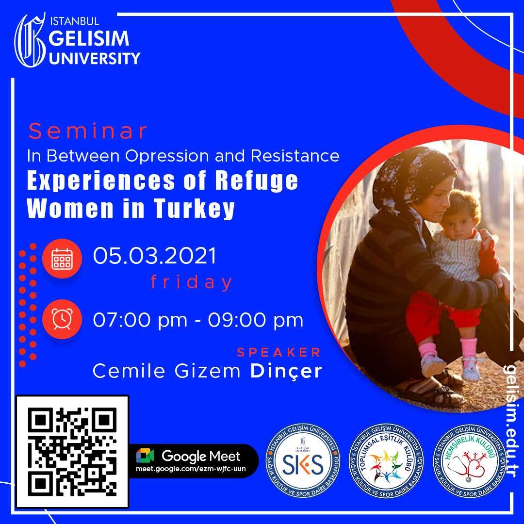 In Between Opression and Resistance Experiences of Refuge Women in Turkey