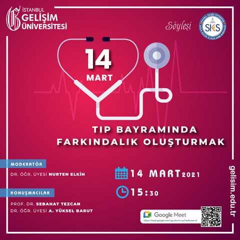 14 Mart Tıp Bayramında Farkındalık Oluşturmak