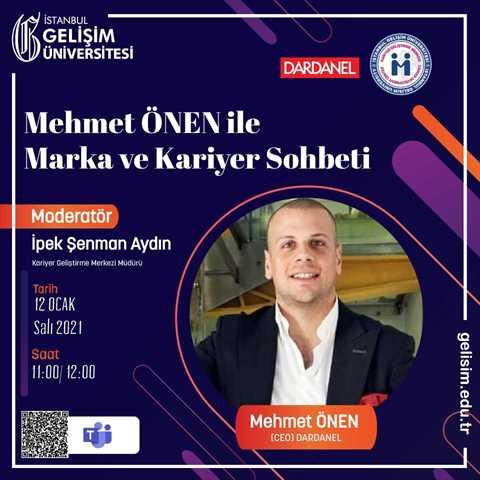 Mehmet Önen ile Marka ve Kariyer Sohbeti