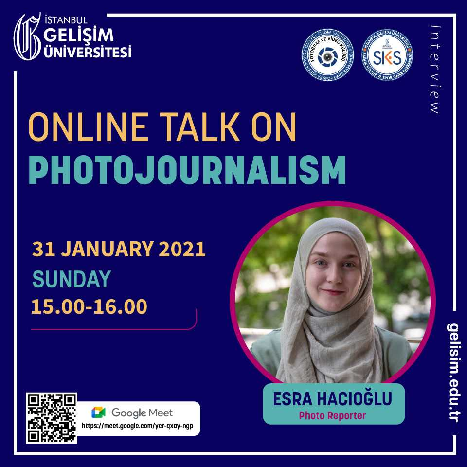 Online Talk on Photojournalism